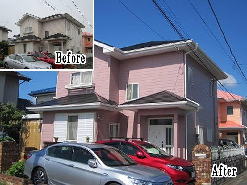 外壁屋根塗装リフォーム