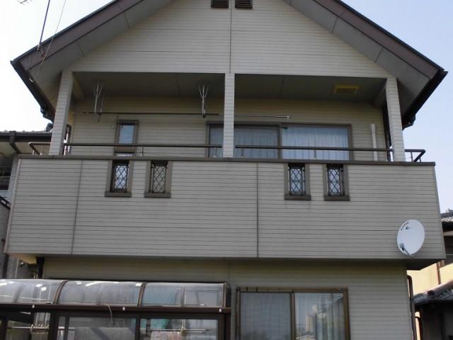 一戸建て住宅(塗装前)