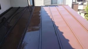トタン屋根(補修後)