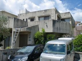 外壁塗装・防水工事(塗り替え前)