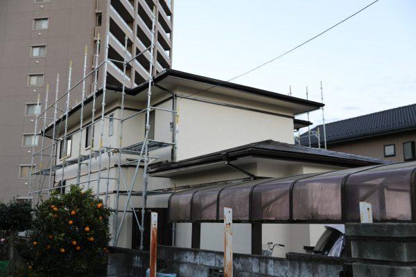 水戸市内の住宅