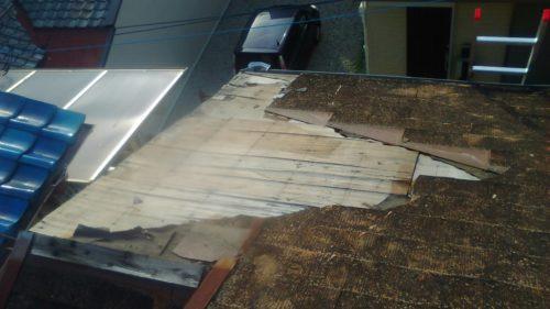 カラーベスト屋根補修
