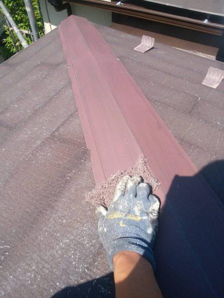 コロニアル屋根 塗装前