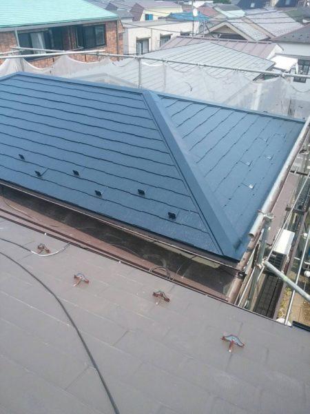 コロニアル屋根 塗装後