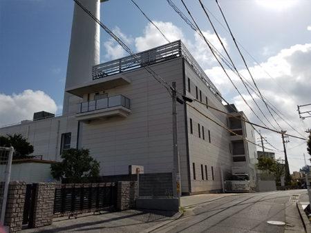 NTT首里屋上防水工事
