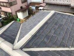 屋根カバー工法前