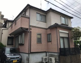 名古屋市西区の一戸建て住宅(塗装前)