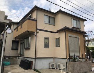 名古屋市西区の一戸建て住宅(塗装後)