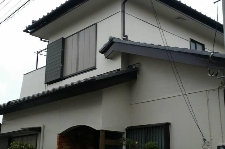 外壁・屋根漆喰塗装
