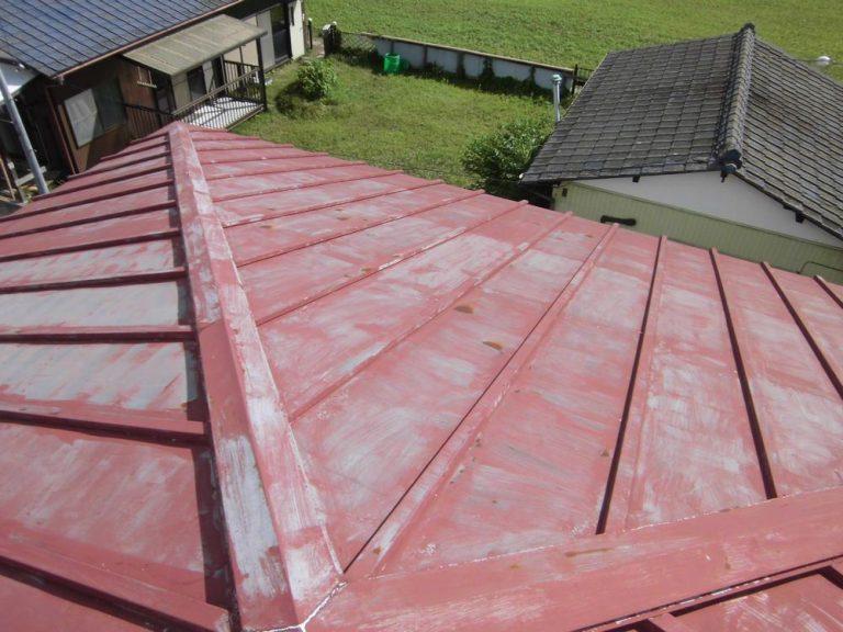 屋根 塗り替え前