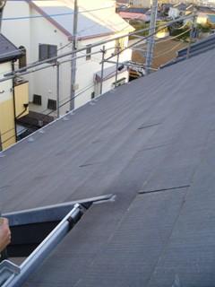 彩翔工業屋根塗装前