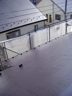 彩翔工業屋根塗装後