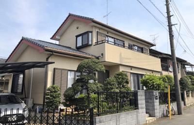 春日井市の一戸建て住宅(塗装前)