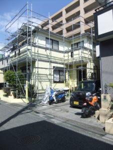草加市の一戸建て住宅(塗装前)