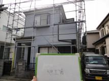 上尾市の一戸建て住宅(塗装前)