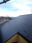 屋根遮熱シリコン塗装