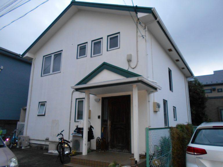 杉並区の一戸建て住宅(塗装前)