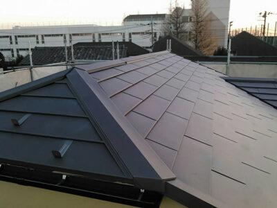 外壁防水塗装 屋根葺き替え