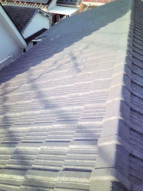 コンクリート屋根の塗り替え