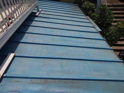トタン屋根(塗り替え前)