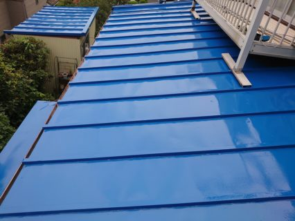 トタン屋根(塗り替え後)