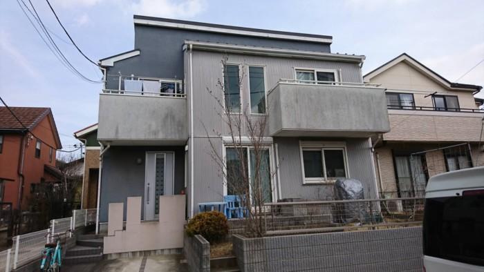 一軒家の塗り替え前
