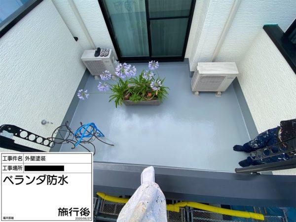 戸建てのベランダ防水