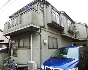 葛飾区内の一戸建て住宅(塗り替え前)