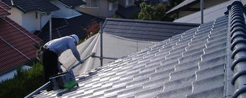 ファーストリフォーム屋根塗装例(コロニアル)