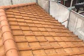 屋根塗装リフォーム前