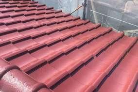 屋根塗装リフォーム後