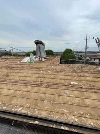 葺き替え前(瓦屋根)