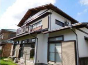成田市の一戸建て住宅(塗り替え前)